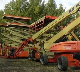 JLG second hand machines for sale